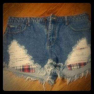 Forever 21 distressed Jeam Shorts